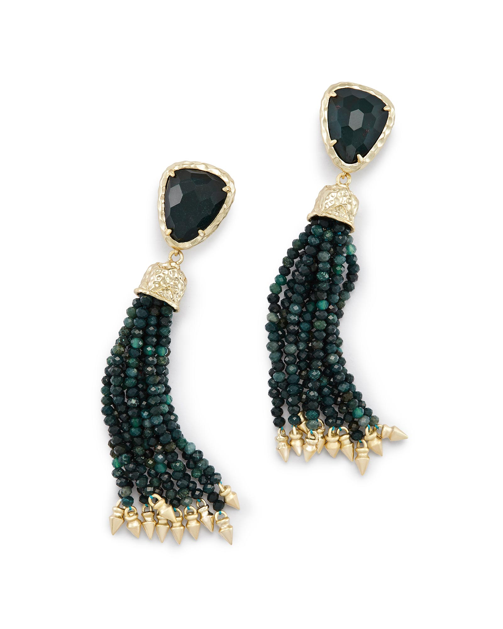 zenzii bead we earrings together tassle wholesale drop long tassel gry