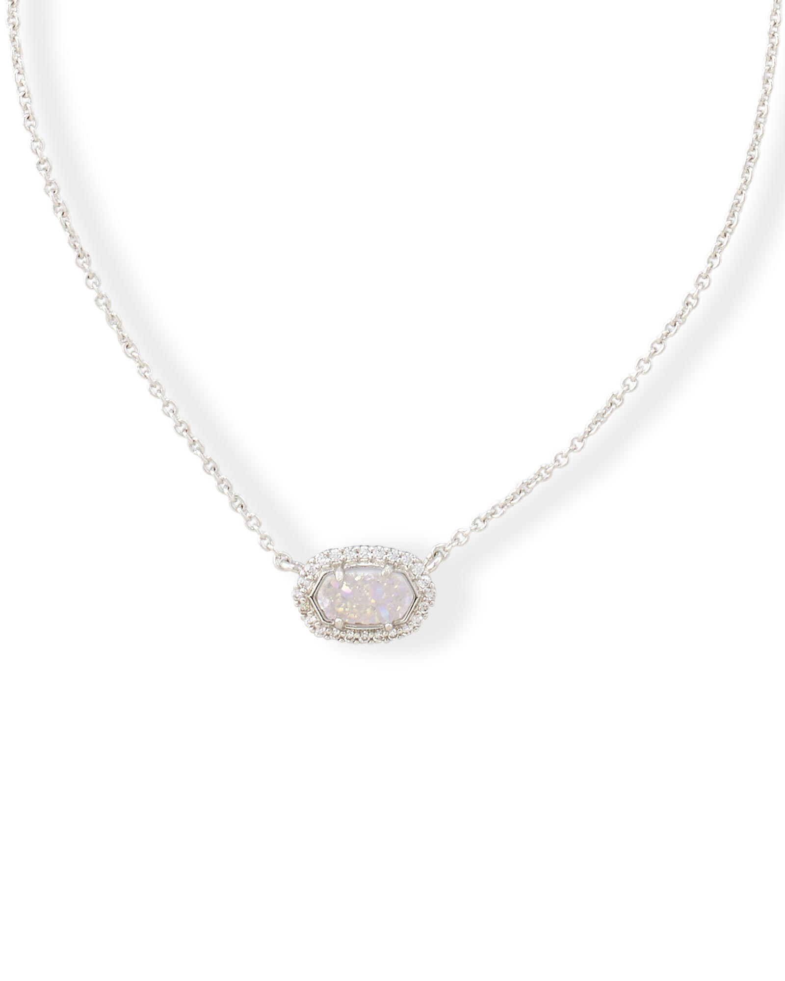 Chelsea Pendant Necklace in Silver