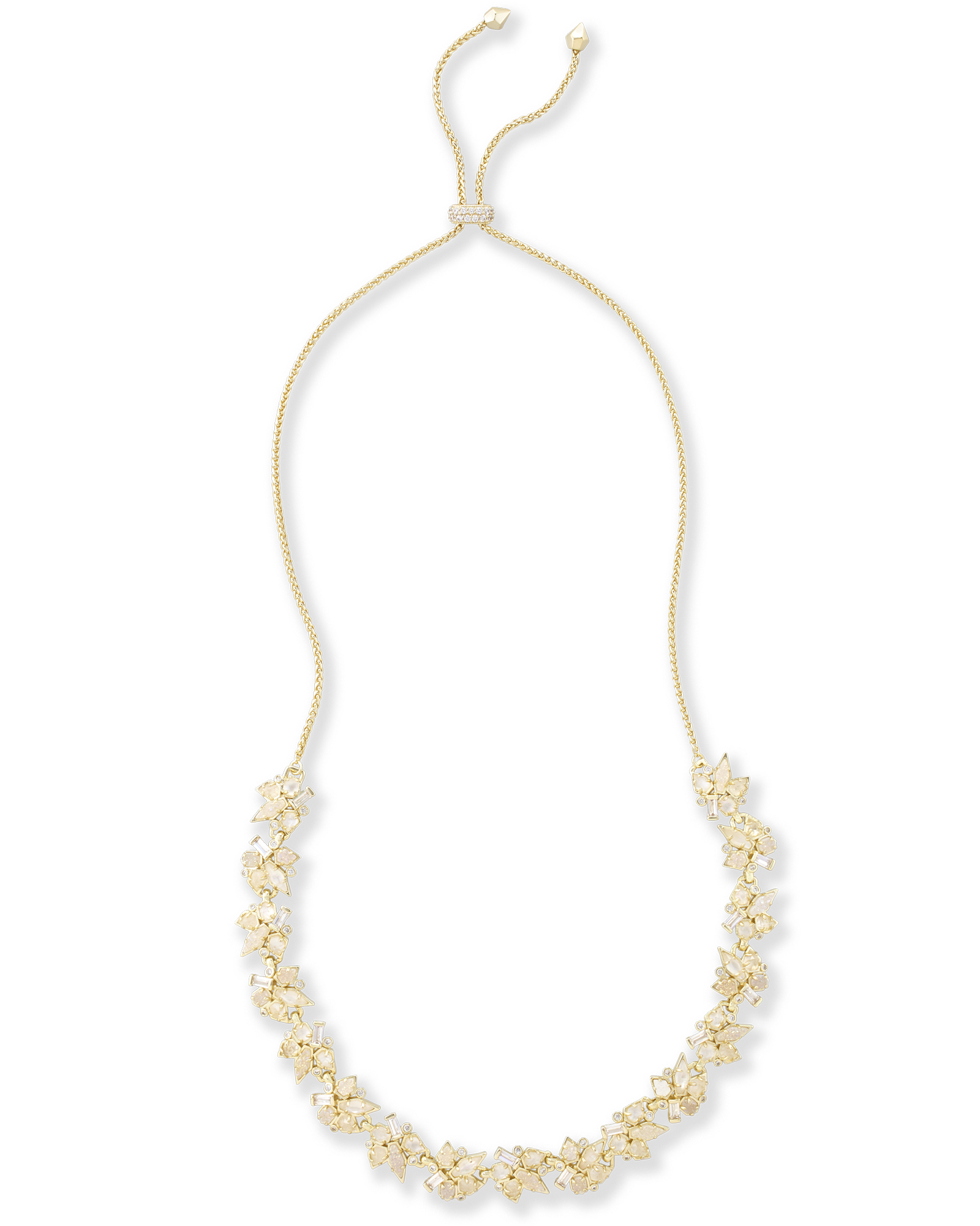 Andrina gold choker necklace in lustr kendra scott for Kendra scott fine jewelry