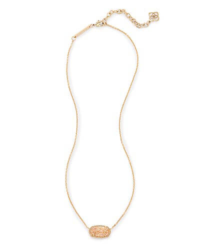 Elisa Pendant Necklace in Sand Drusy from Kendra Scott Product Image