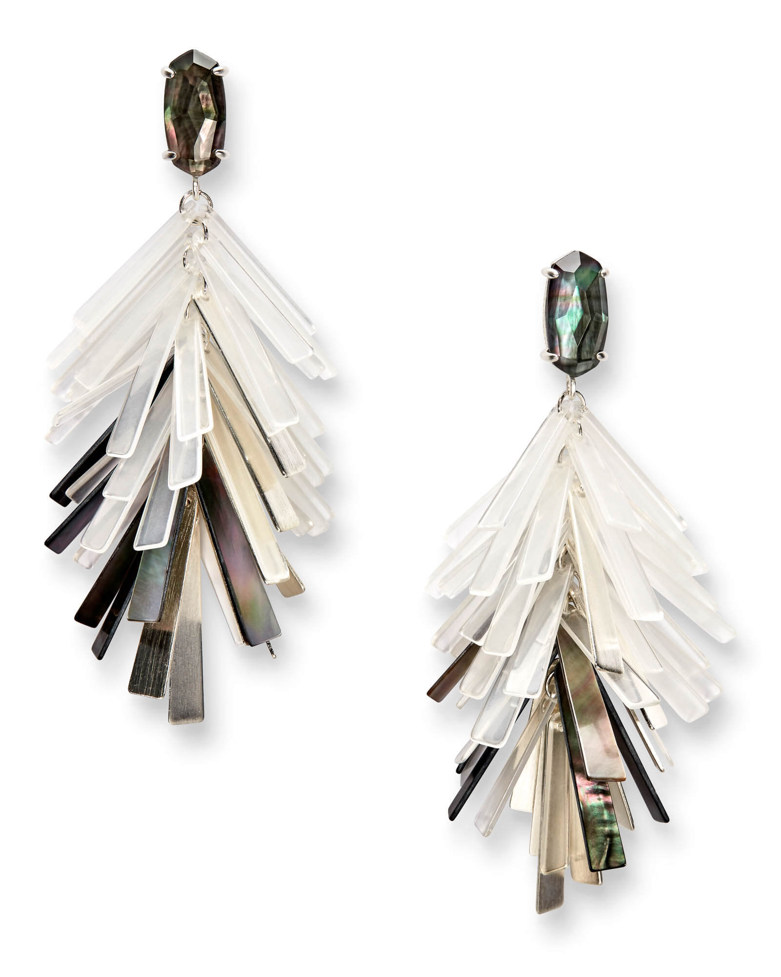 Jasper Statement Earrings