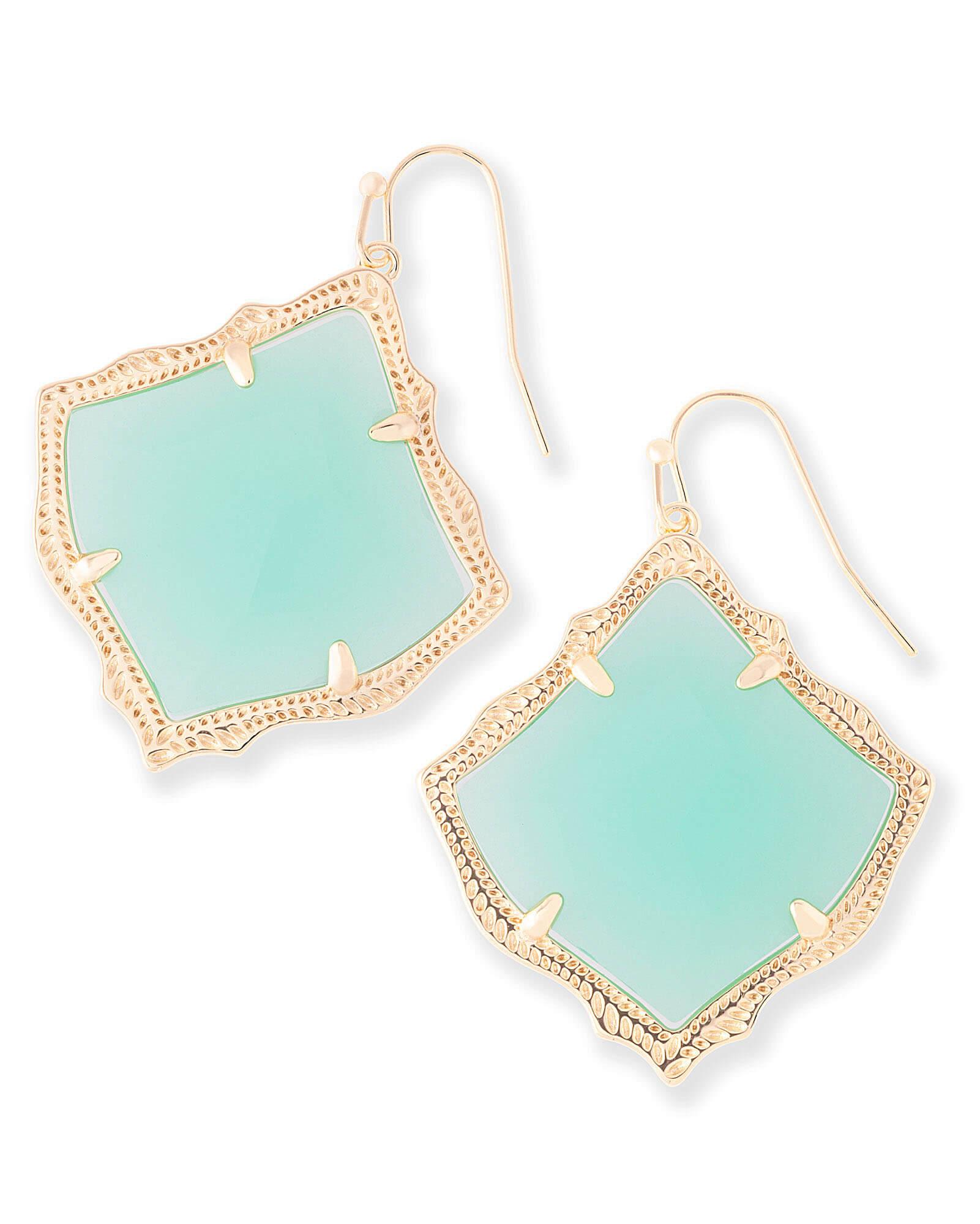 85aa3e3079bf7c Kirsten Drop Earrings in Chalcedony | Kendra Scott