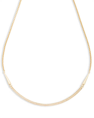 Scottie Choker Necklace in Gold