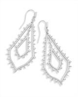 Alice Drop Earrings in Silver