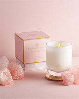 Rose Quartz Large Tumbler Candle