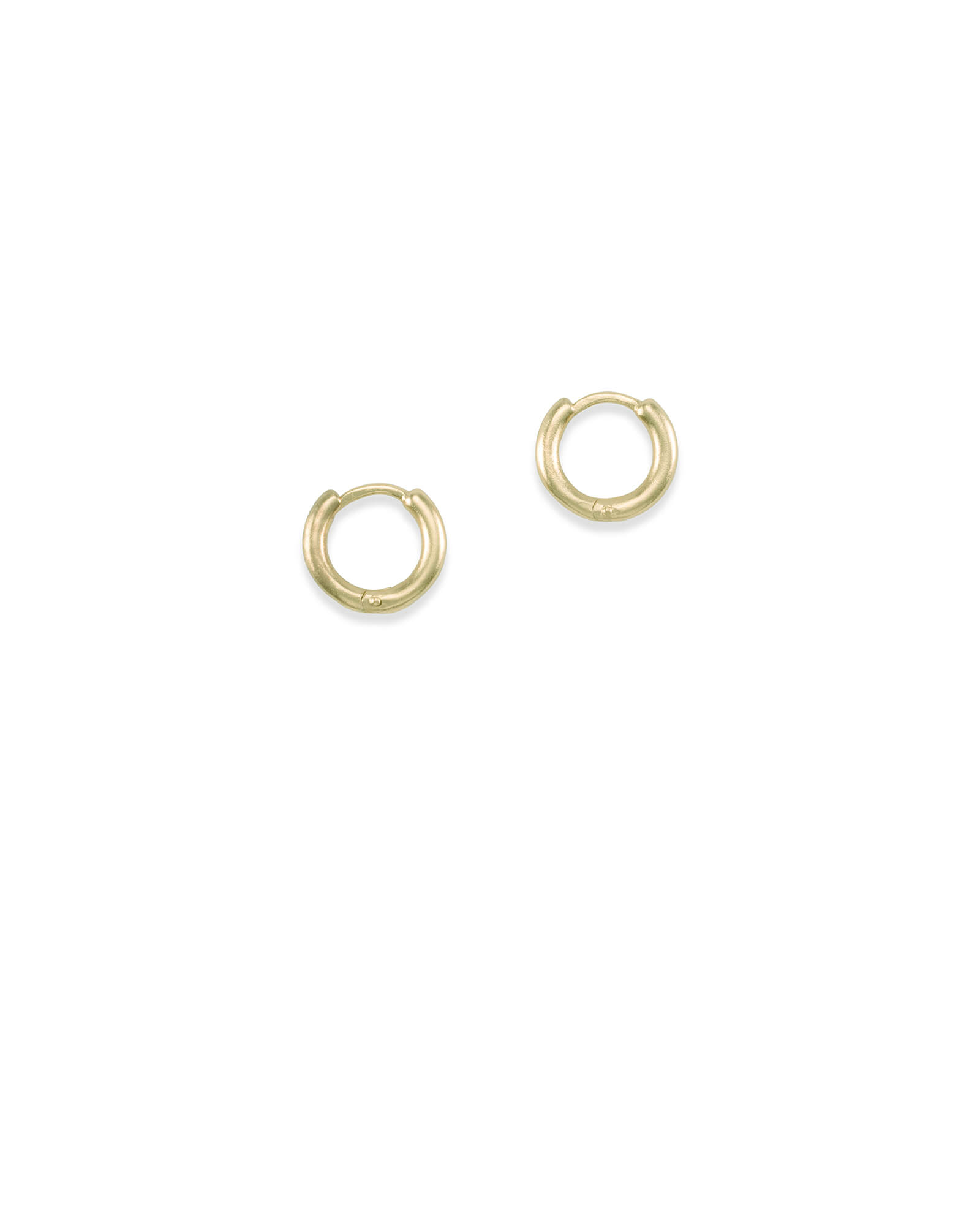 Huggie Hoop Earrings in Gold
