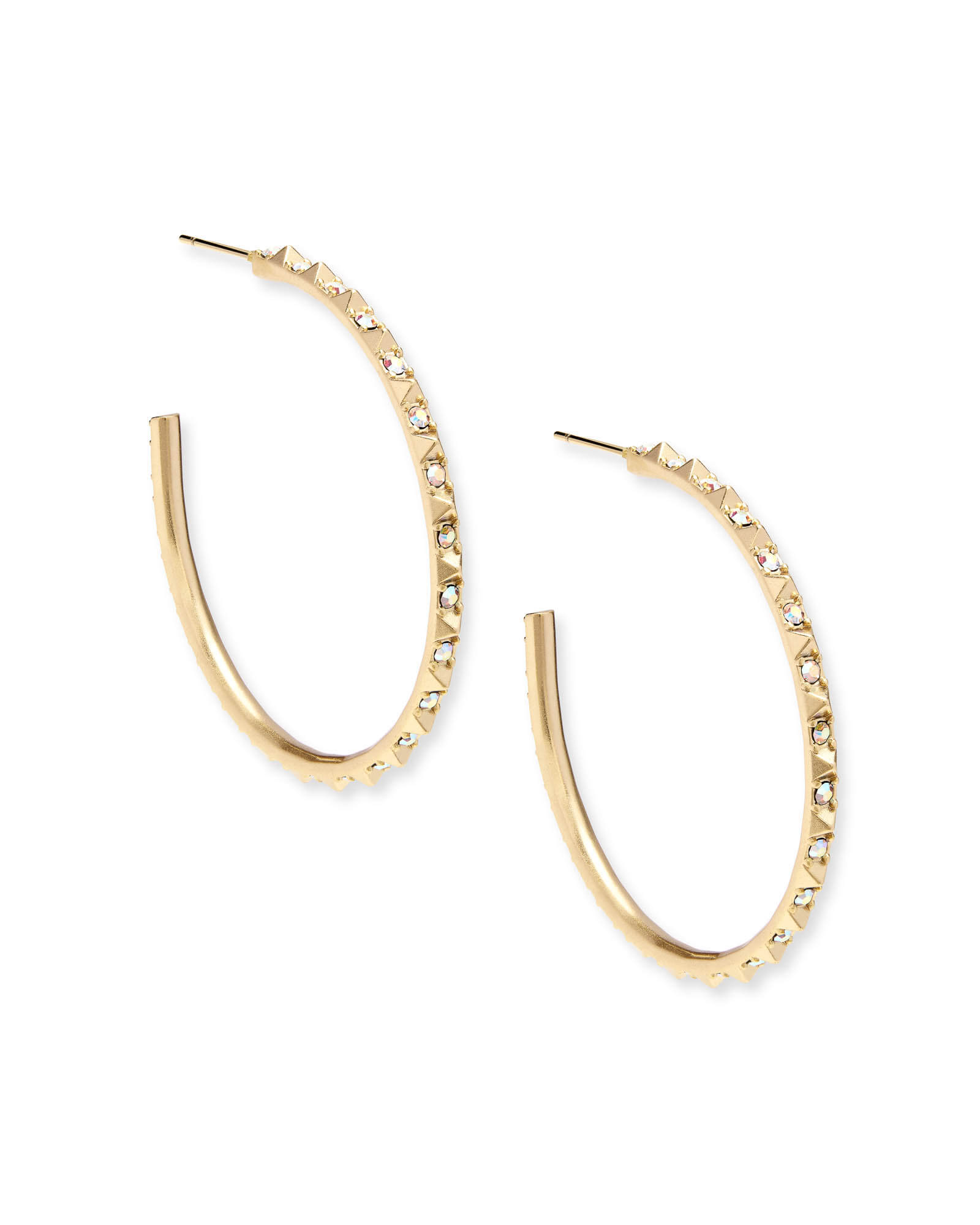 Veronica Hoop Earrings in Gold