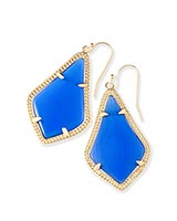 Alex Earrings in Cobalt