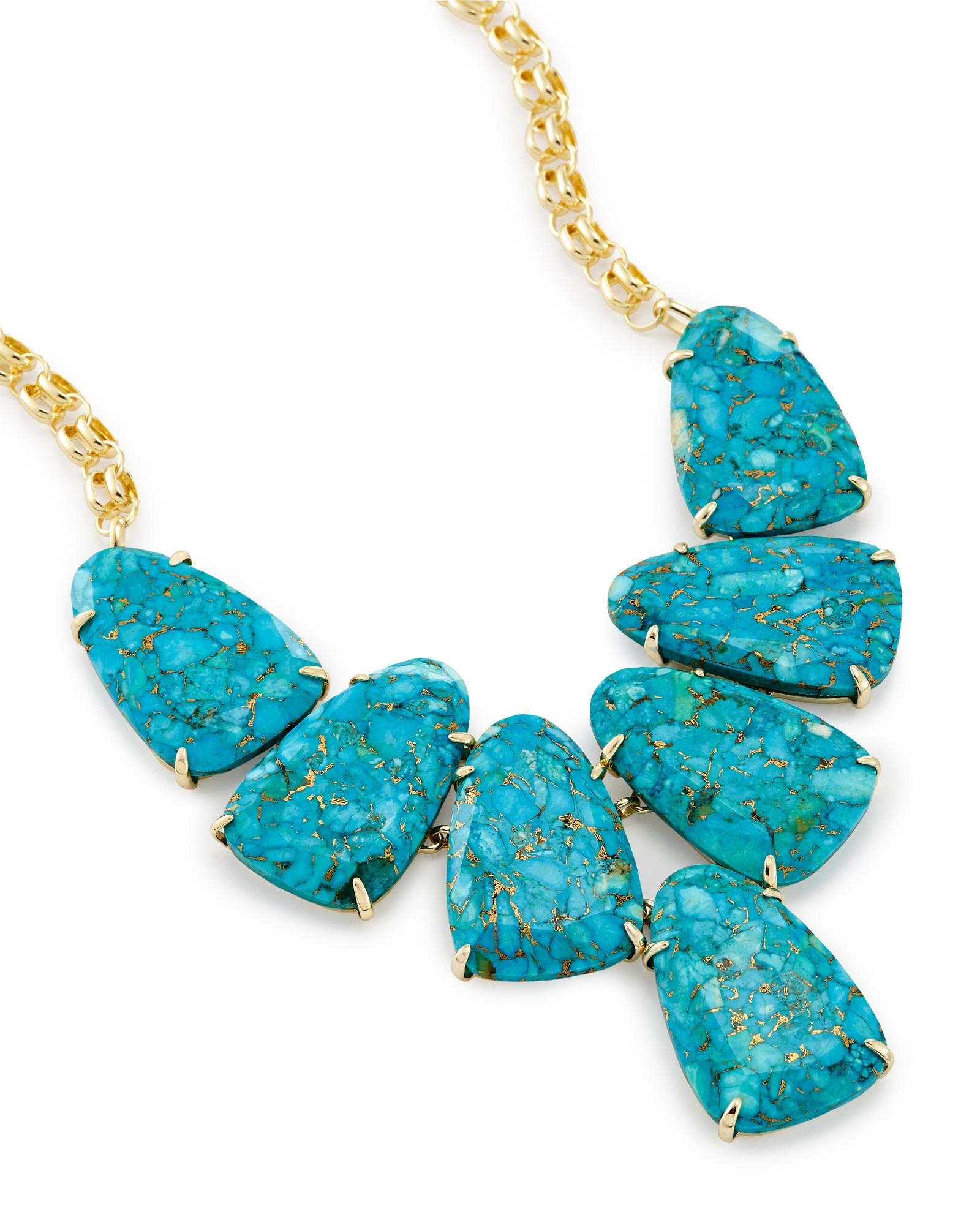 with tiny avindy pave turquoise products necklace circle