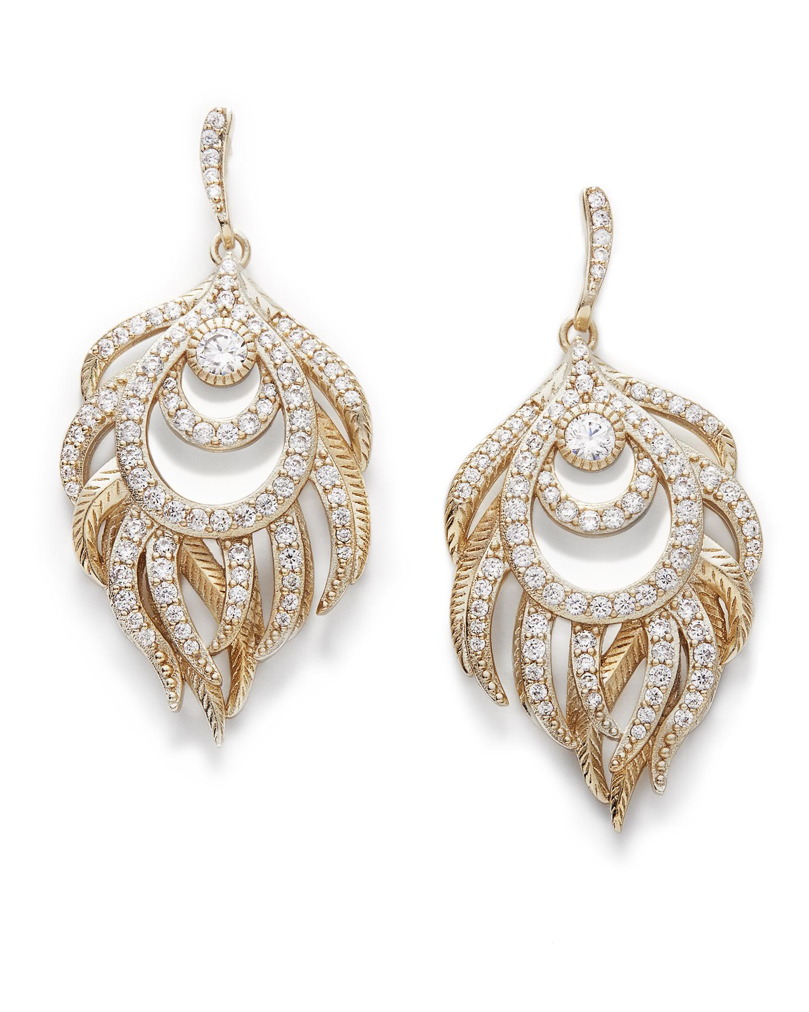 Emelia chandelier drop earrings in gold kendra scott emelia statement earrings in gold arubaitofo Images