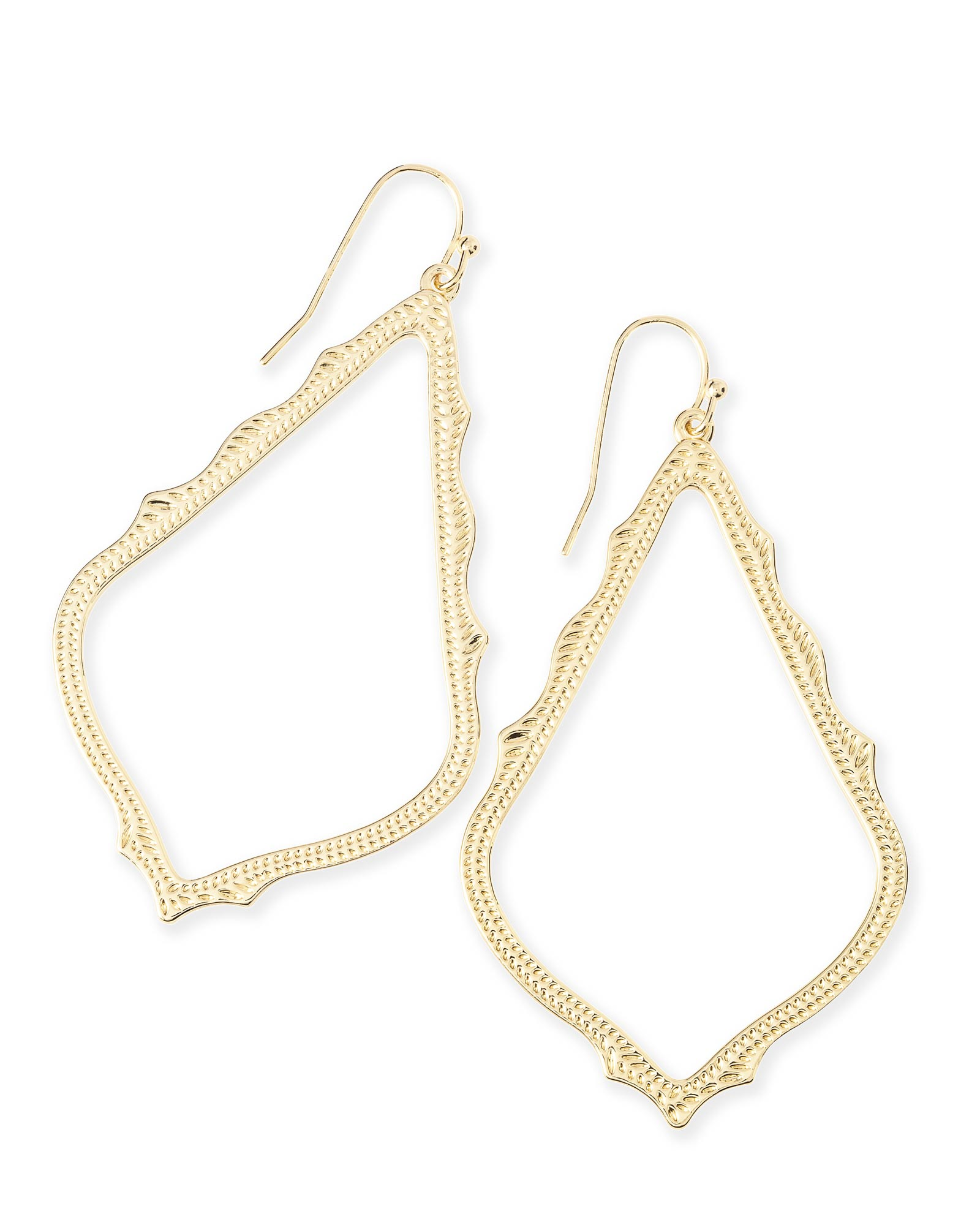 Sophee Drop Earrings in Gold