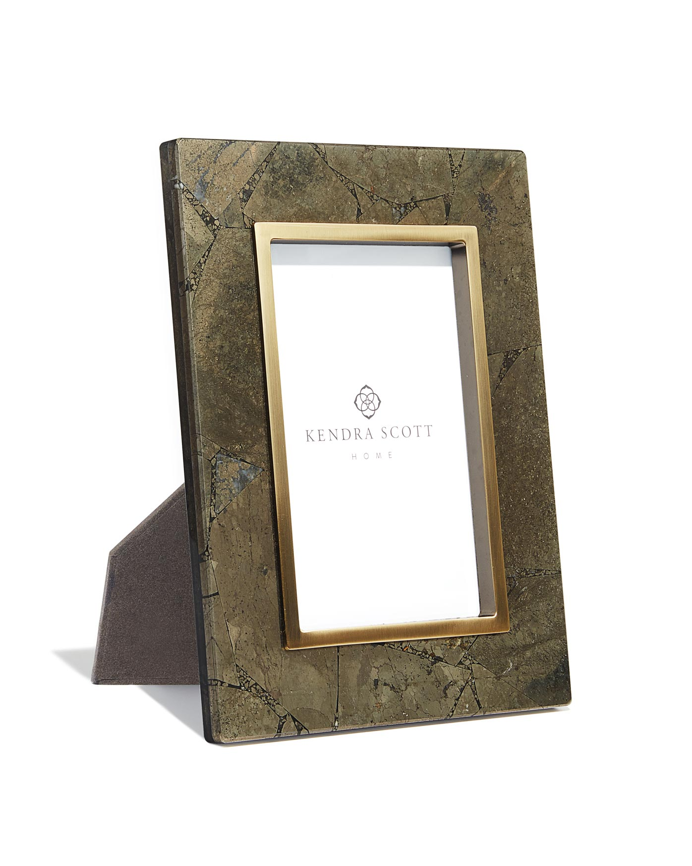 Picture Frame in Variegated Pyrite 4x6 | Kendra Scott