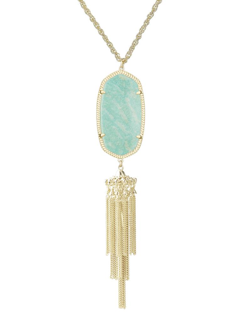 Rayne Necklace in Amazonite