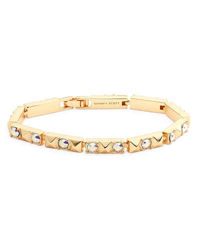 Phillipe Link Bracelet in Gold