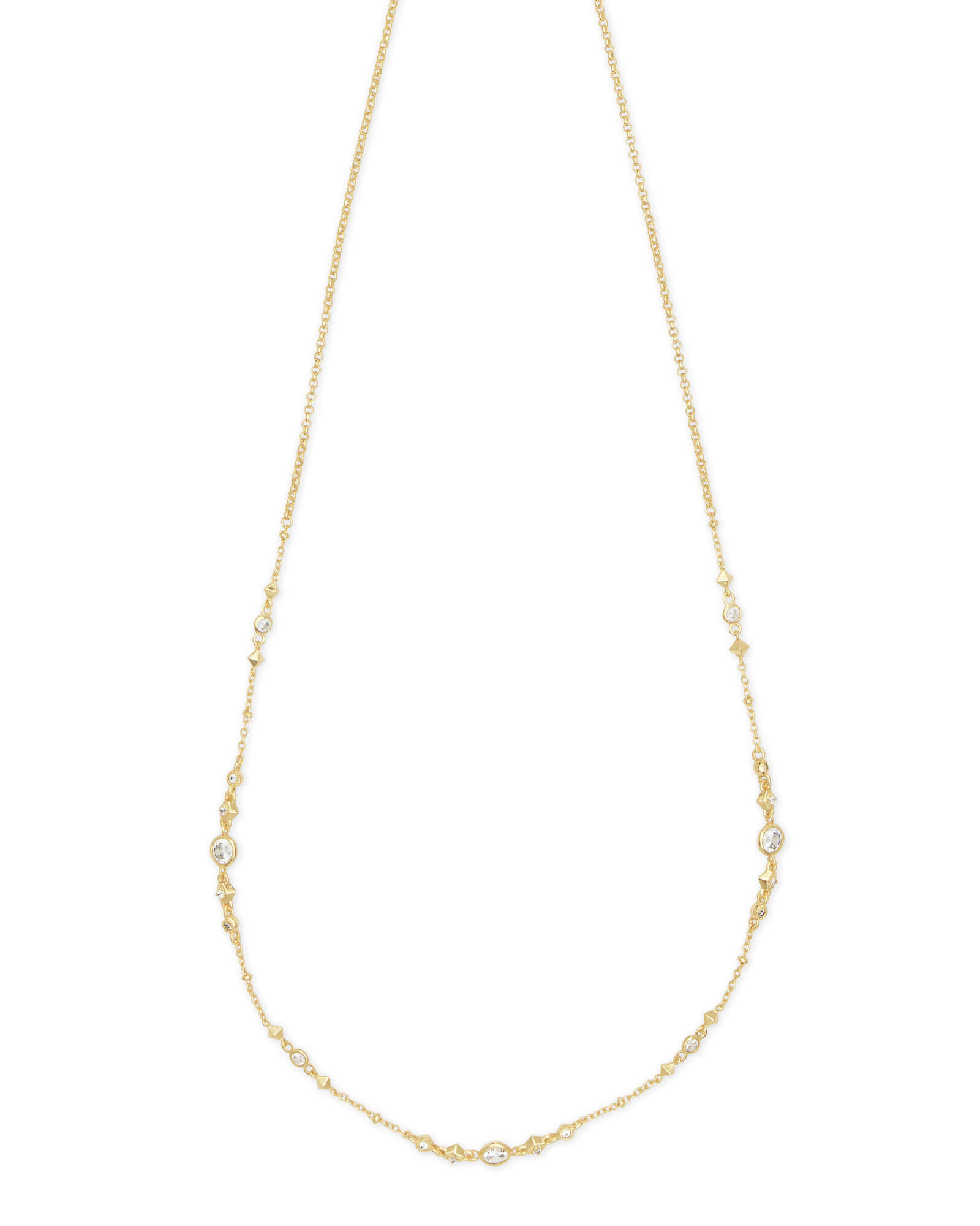 Winifred Adjustable Choker Necklace in Gold