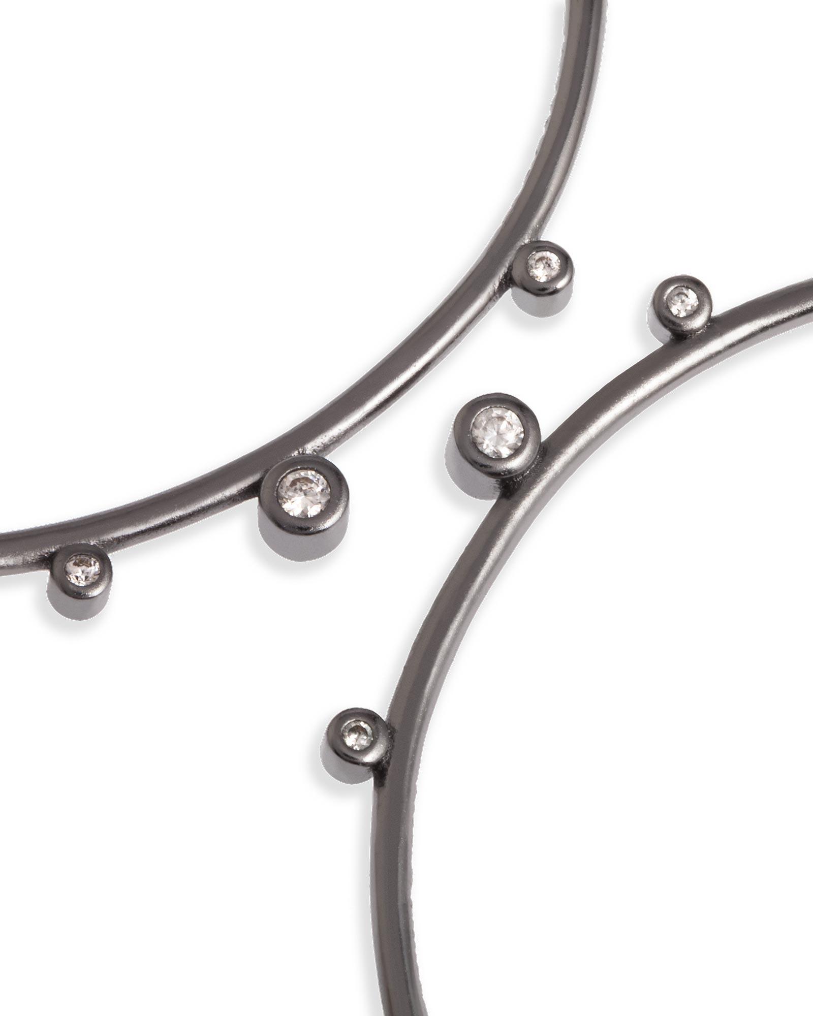 875e8706731af Lety Hoop Earrings in Hematite
