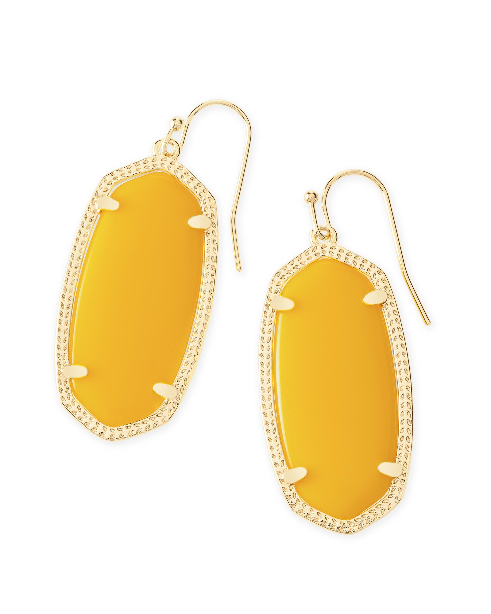 Elle Earrings in Yellow