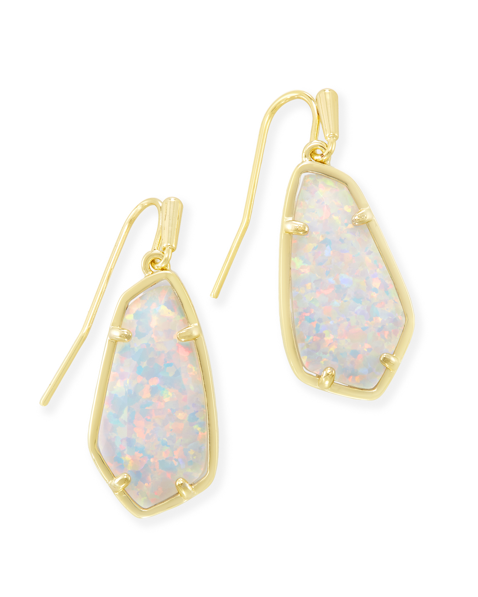 Camelia Drop Earrings