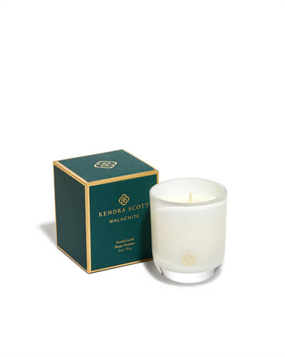 Malachite Small Votive Candle