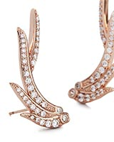 Daphne Ear Climbers in Rose Gold