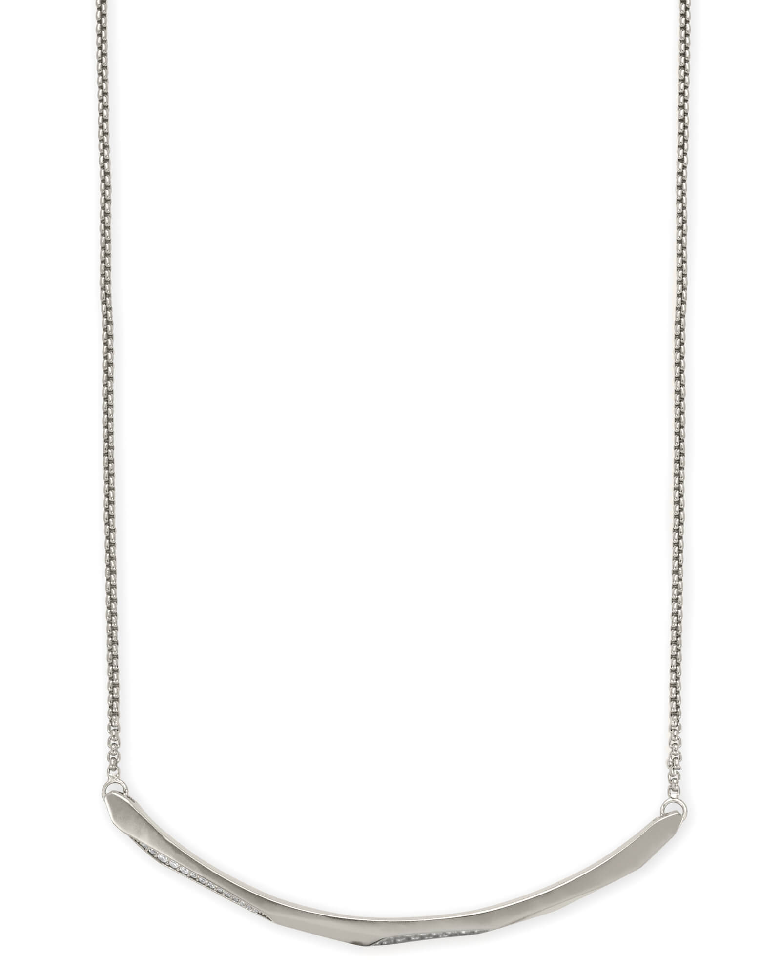 Graham Choker Necklace In Silver