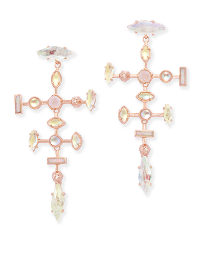 Teagan Statement Earrings in Radiant