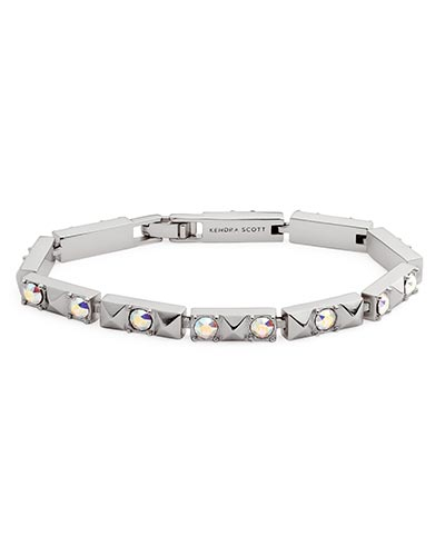 Phillipe Link Bracelet in Antique Silver