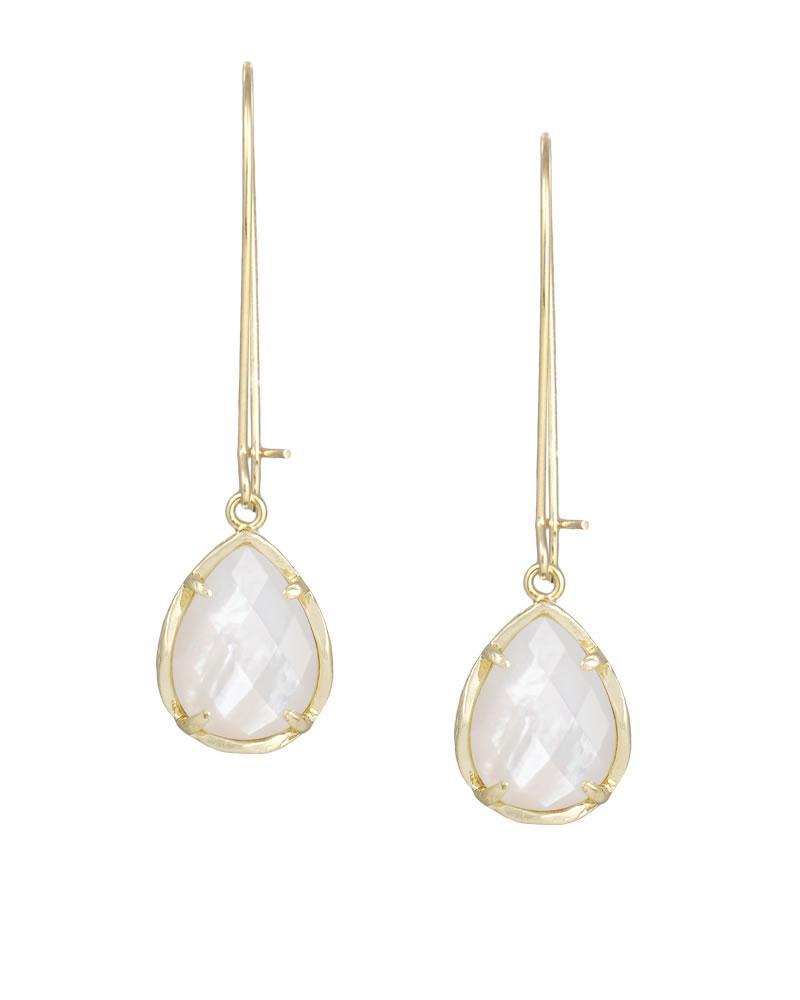 Dee Earrings In Ivory Pearl
