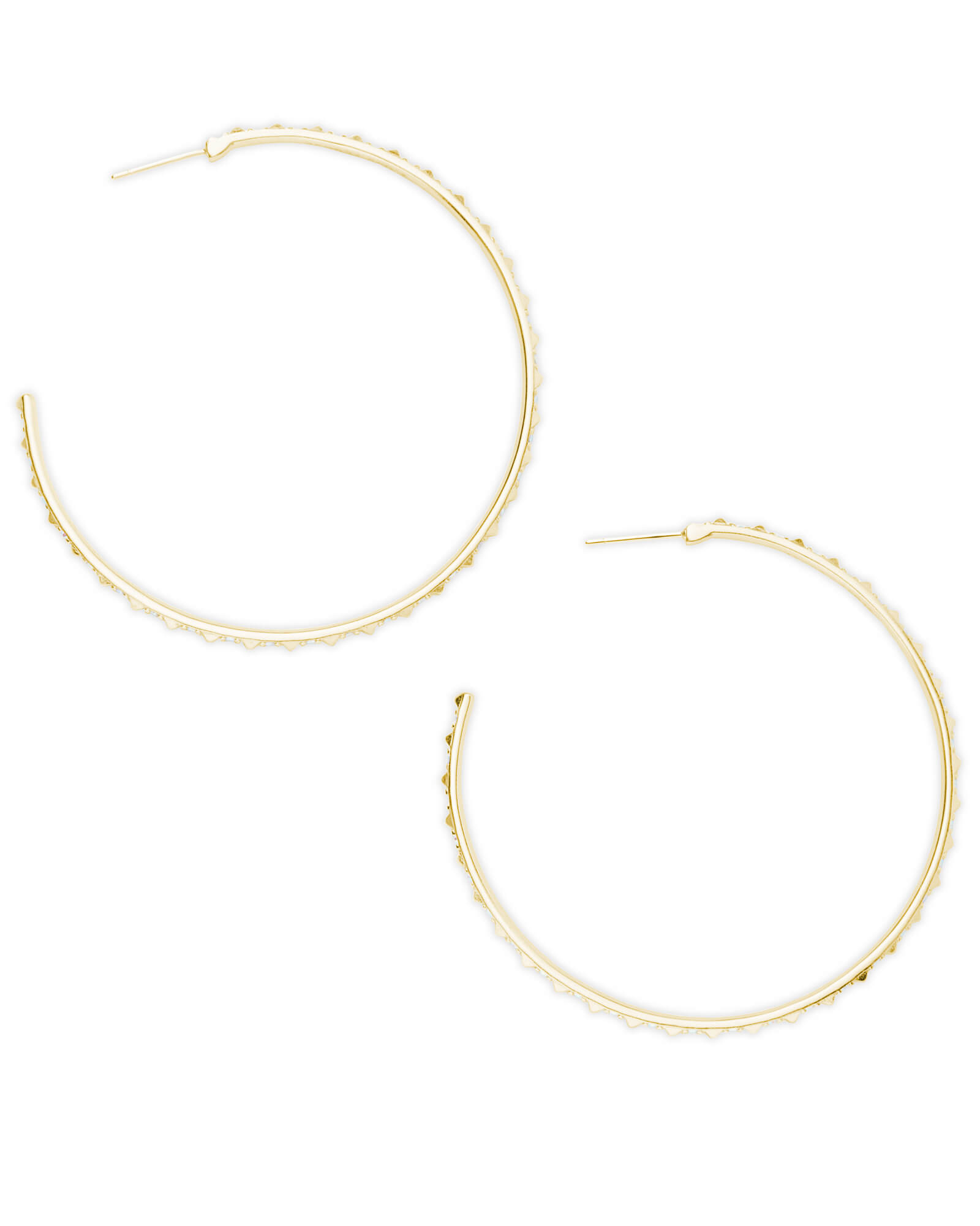 Val Hoop Earrings