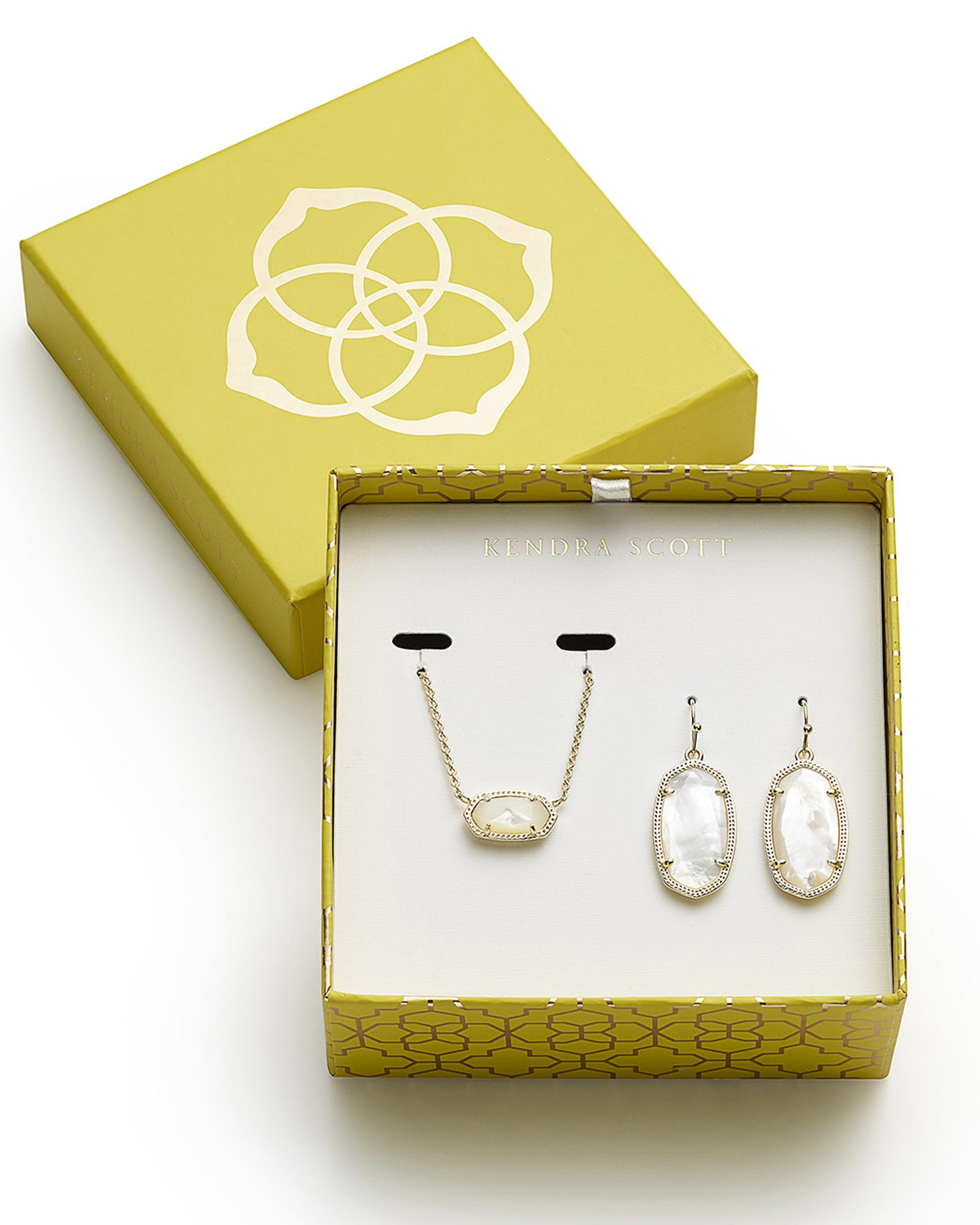 Dani earrings elisa necklace set in gold kendra scott for Best website for gifts