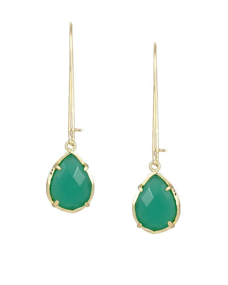 Dee Earrings In Green