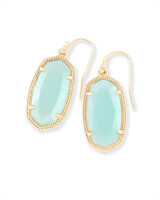 Dani Drop Earrings in Chalcedony
