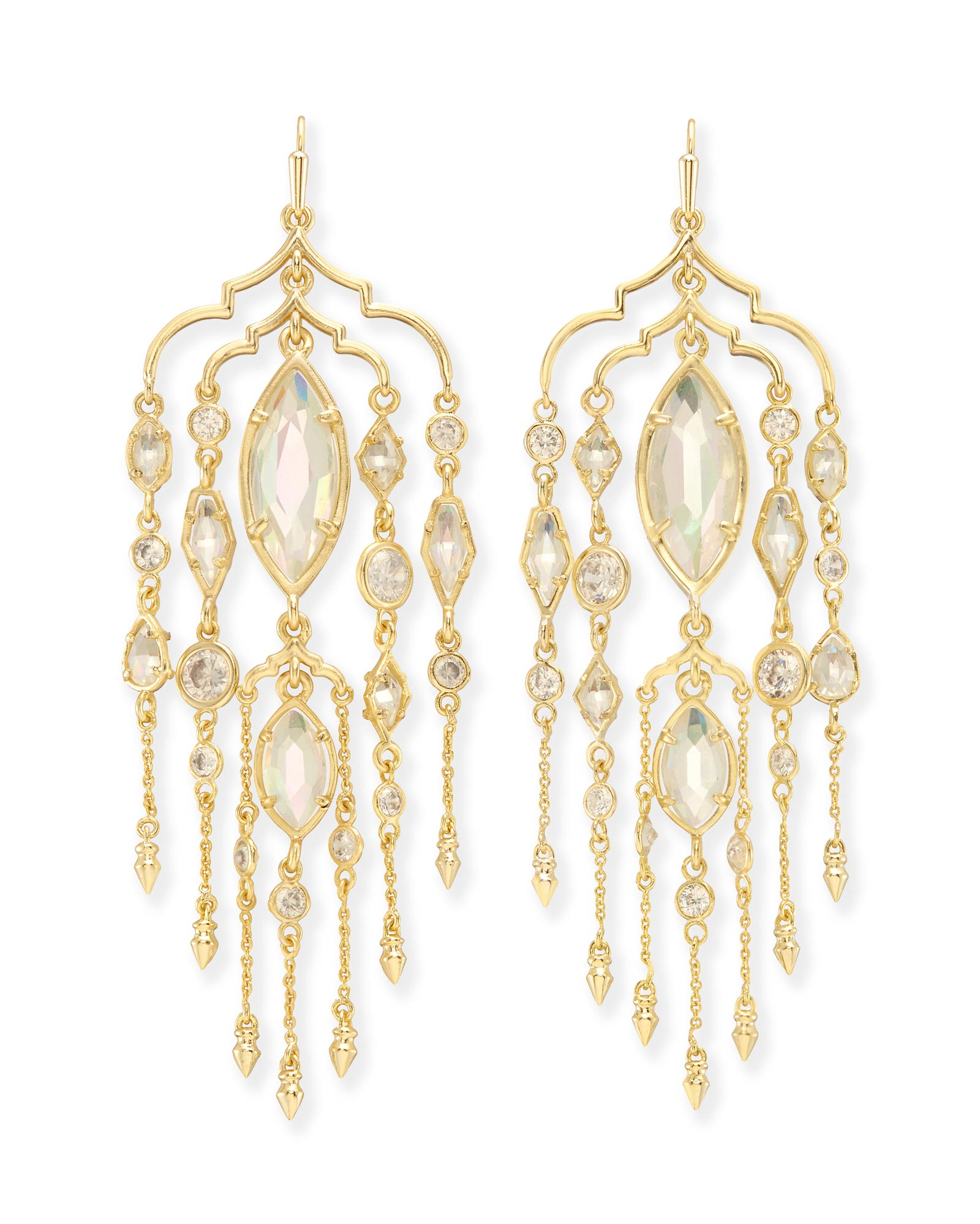 Emma Shoulder Duster Earrings