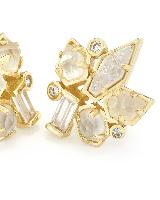Adella Stud Earrings in Gold