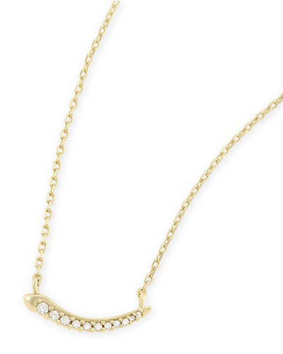Whitlee Pendant Necklace in Gold
