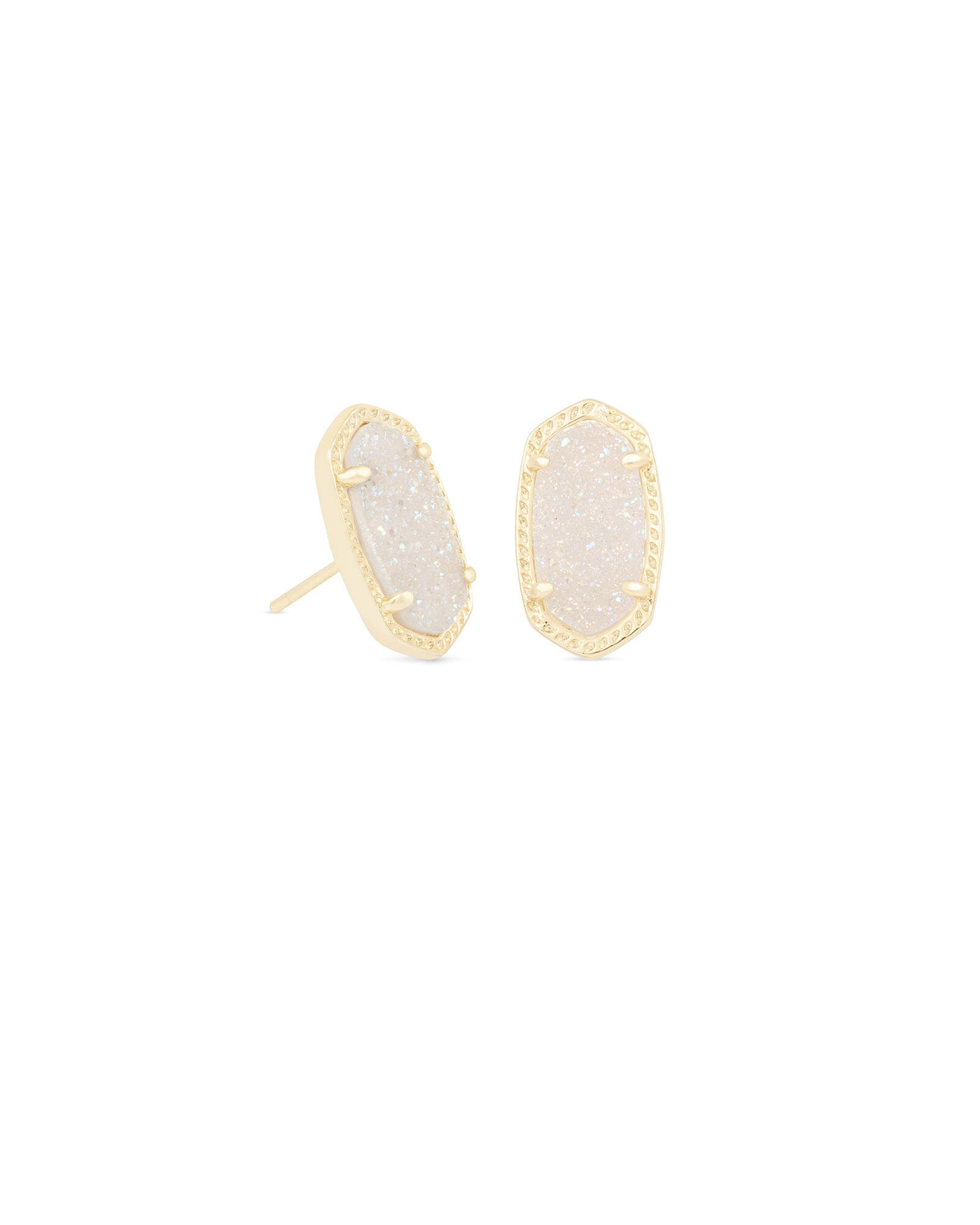 Ellie Stud Earrings in Gold