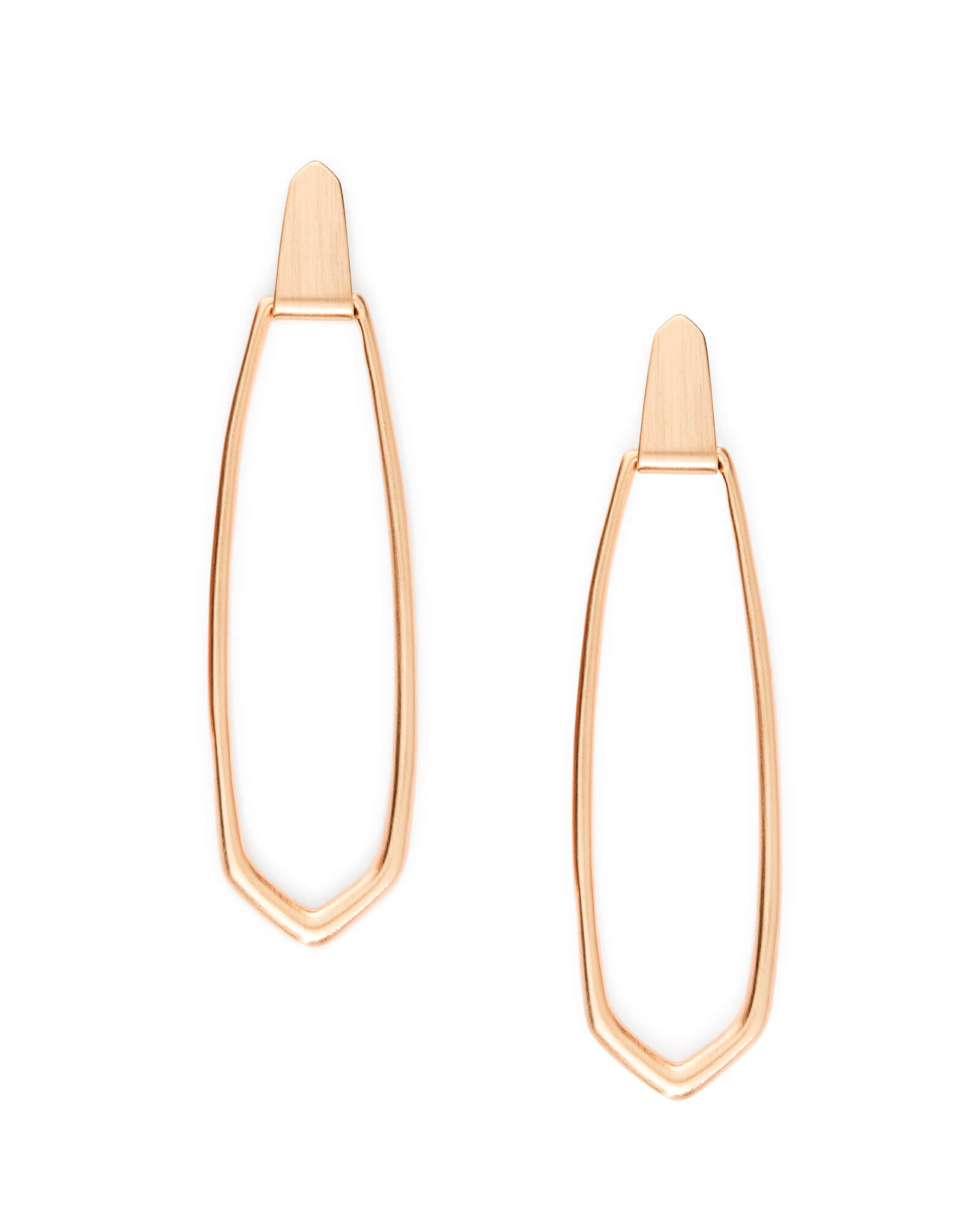 Patterson Hoop Earrings in Rose Gold