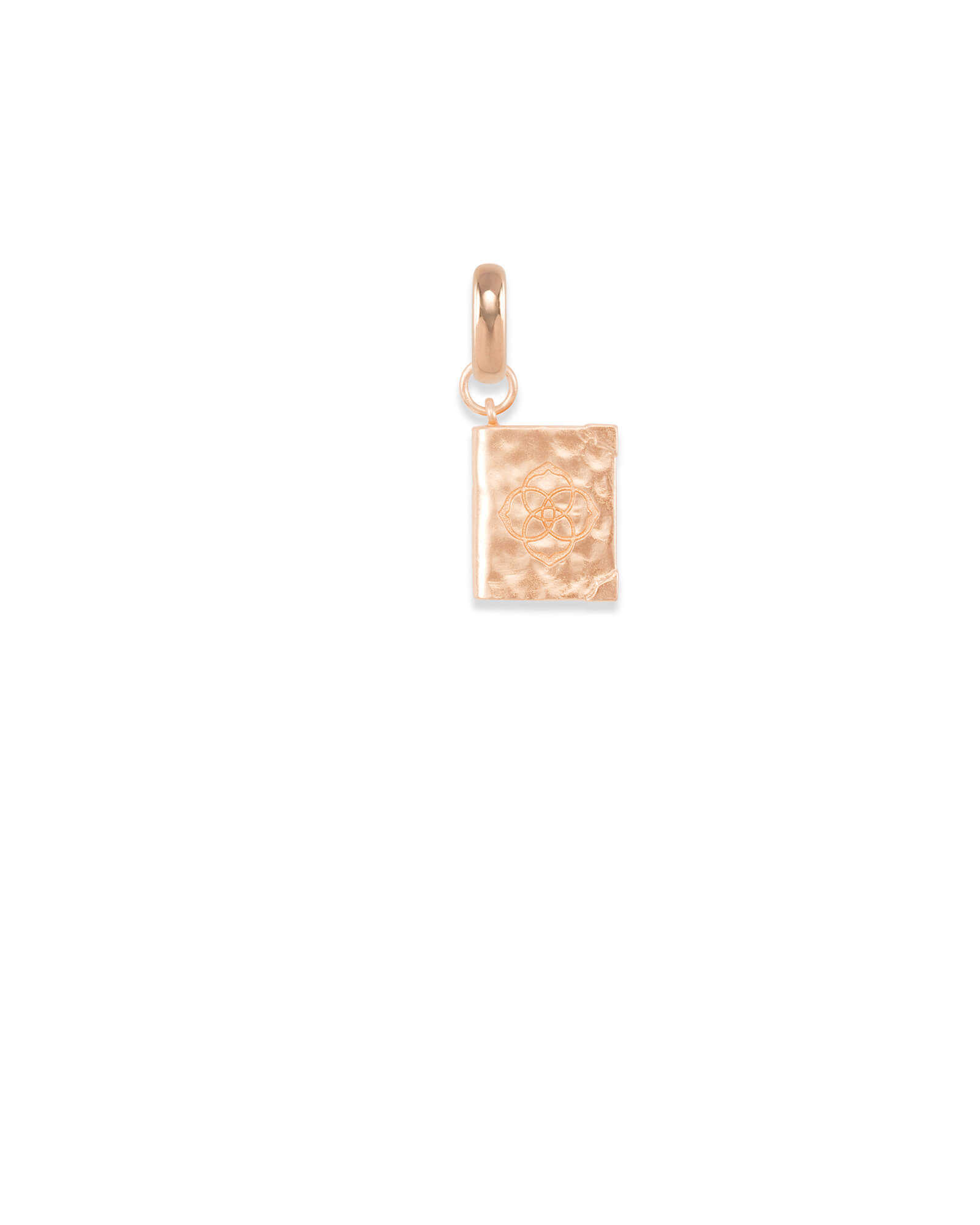 Literacy Charm in Rose Gold