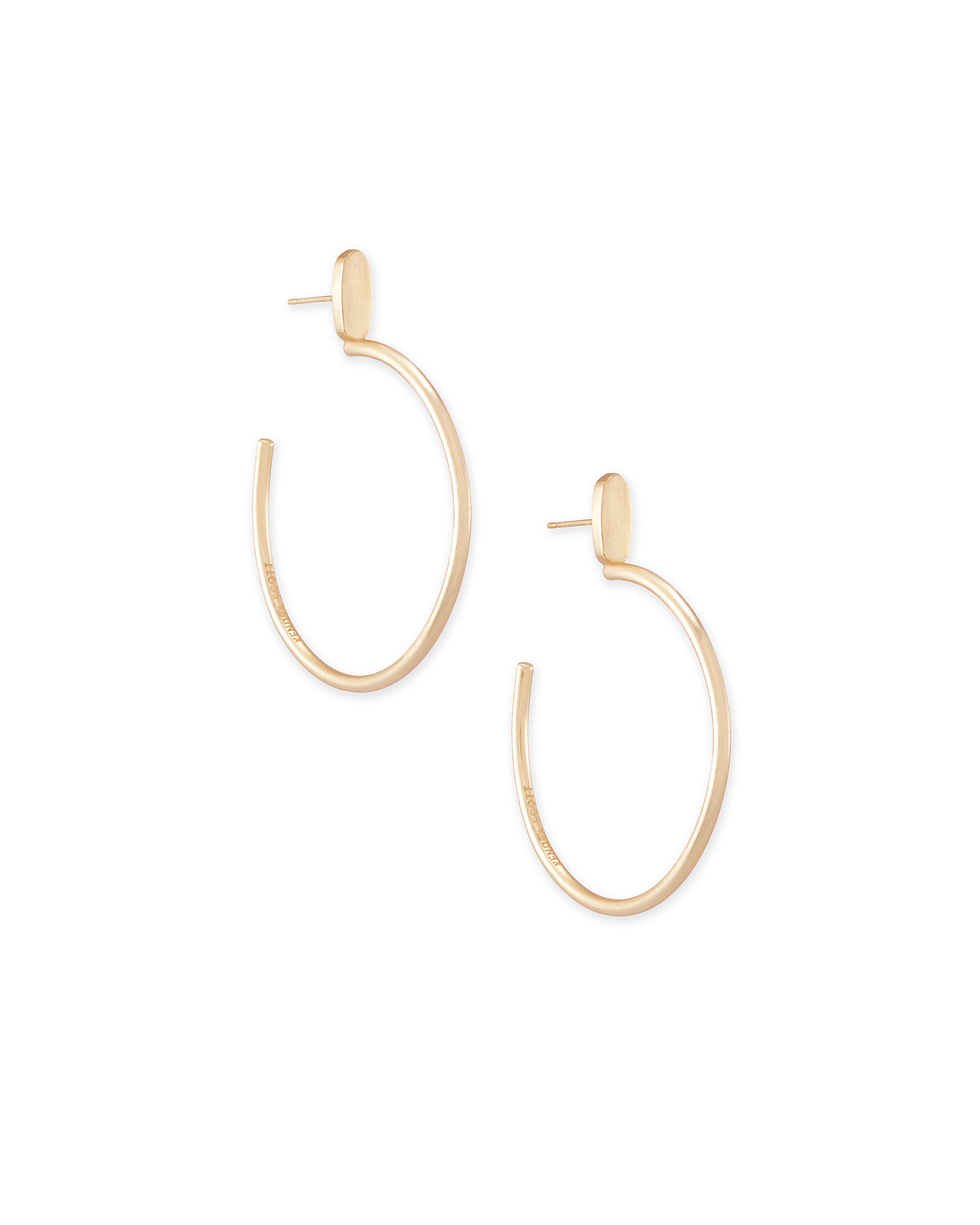 Small Pepper Hoop Earrings In Rose Gold