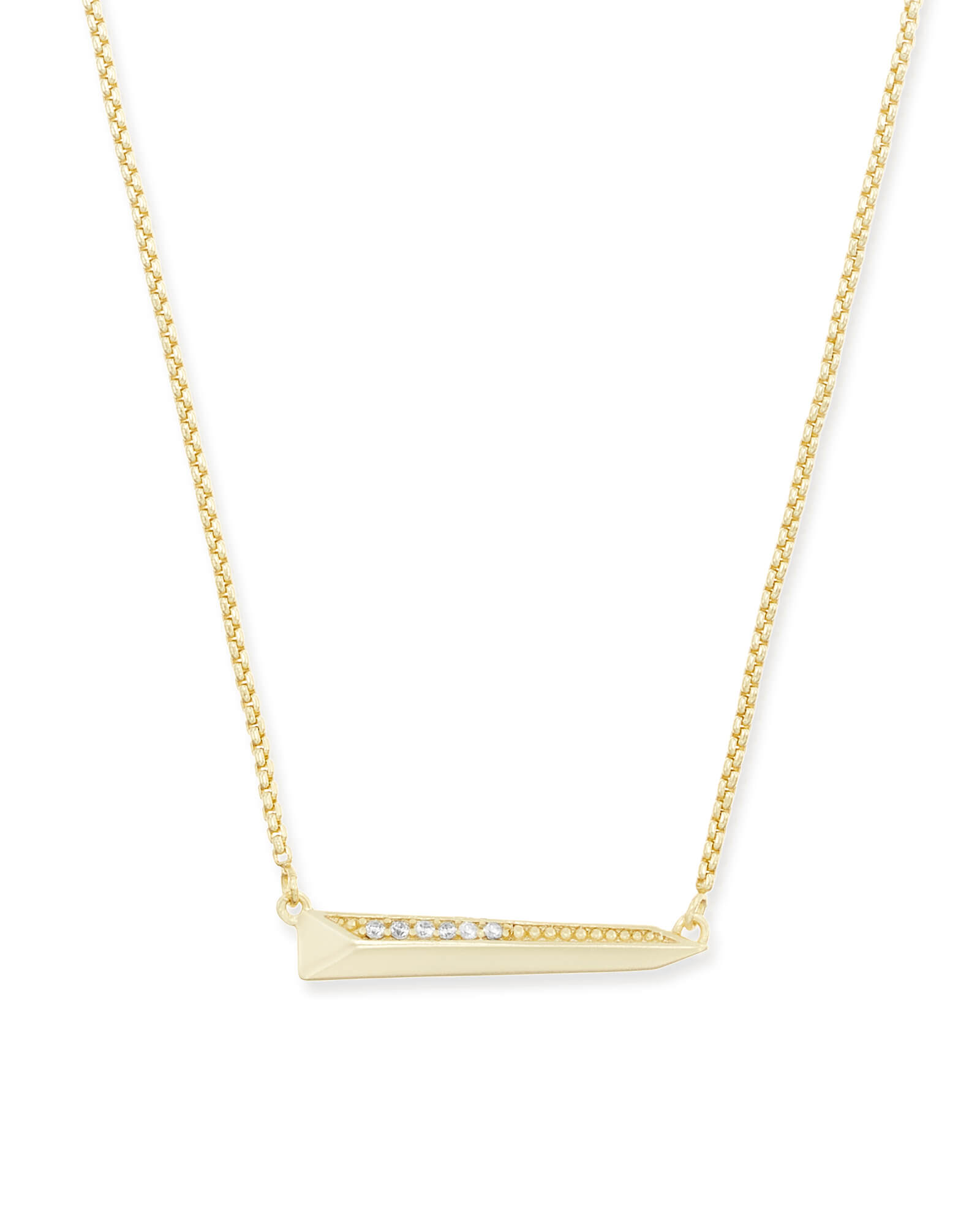 Elliot Pendant Necklace in Gold