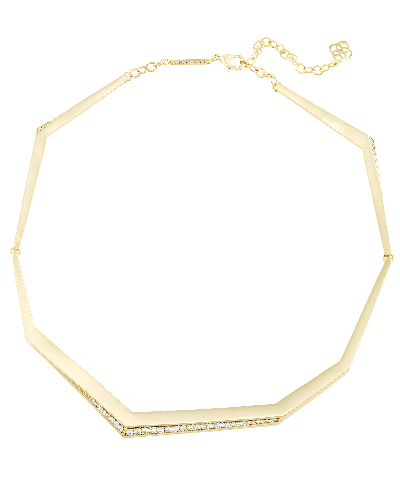Lucas Choker Necklace in Gold