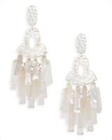 Kitty Statement Earrings in Neutral Mix