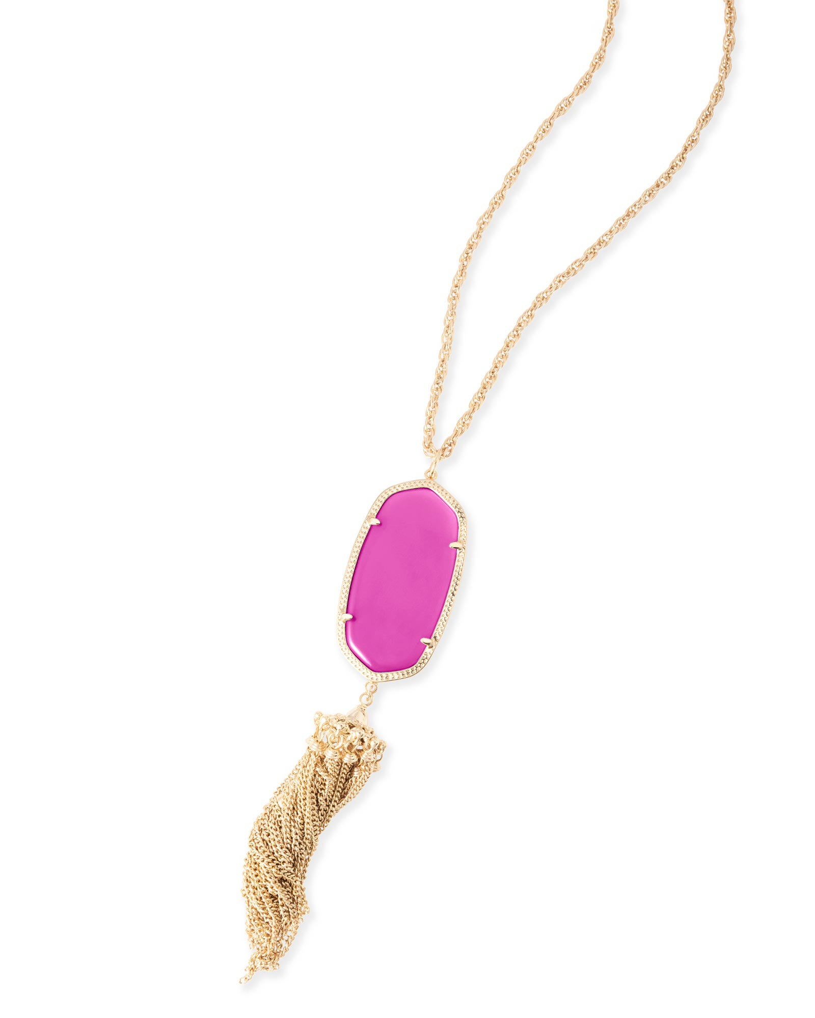 Rayne Necklace in Magenta