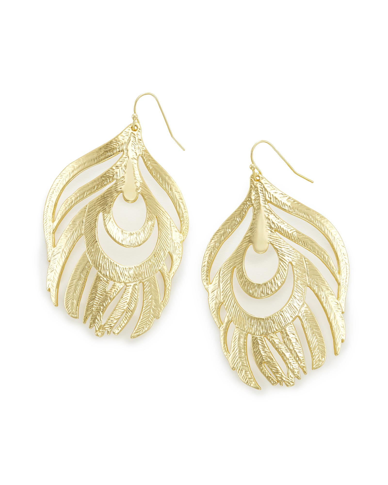 Karina Statement Earrings In Gold