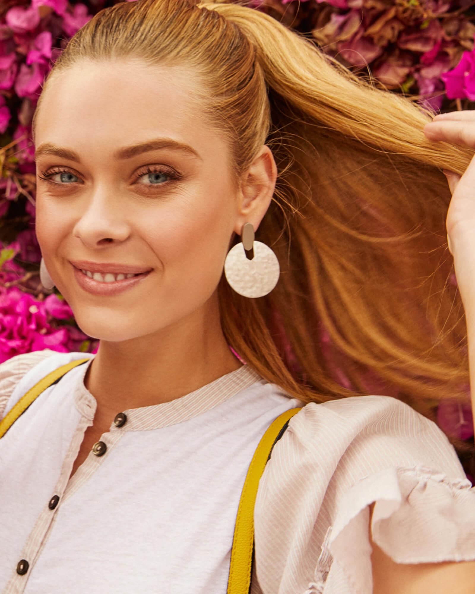 ce56821ee9246 Didi Statement Earrings in Silver   KendraScott