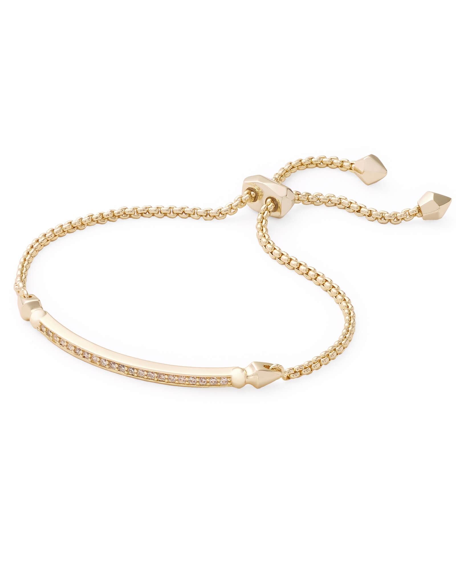 Ott Adjustable Chain Bracelet in Gold