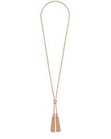 Presleigh Y Necklace in Rose Gold