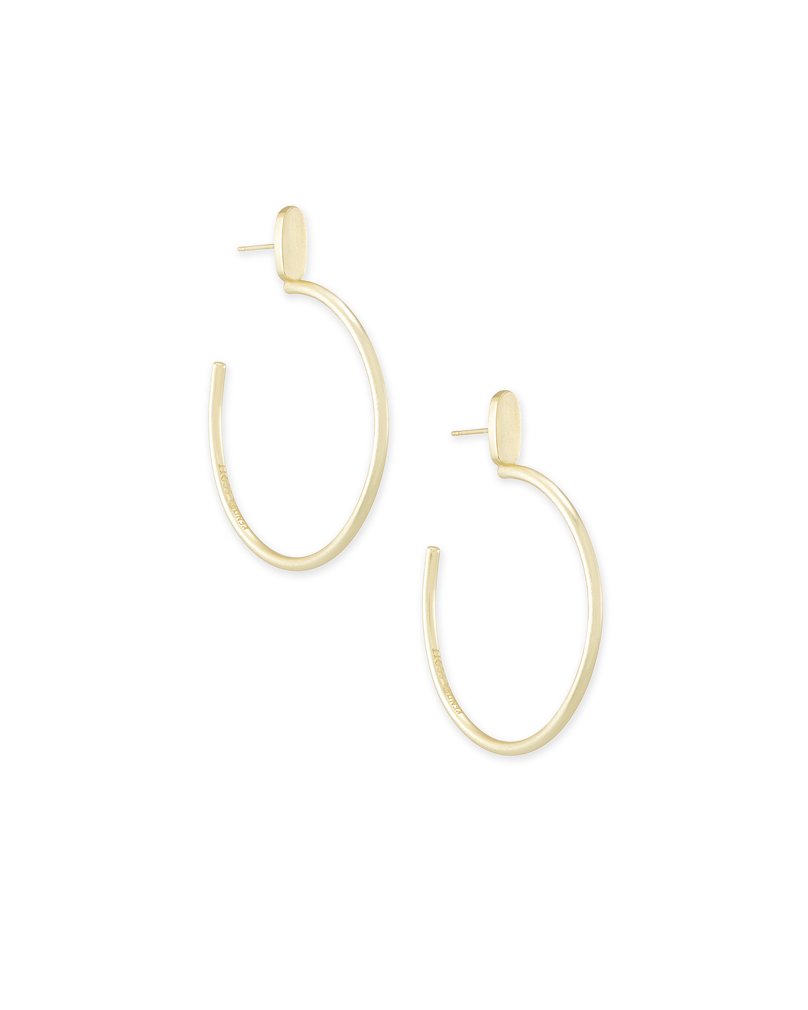 Small Pepper Hoop Earrings In Gold