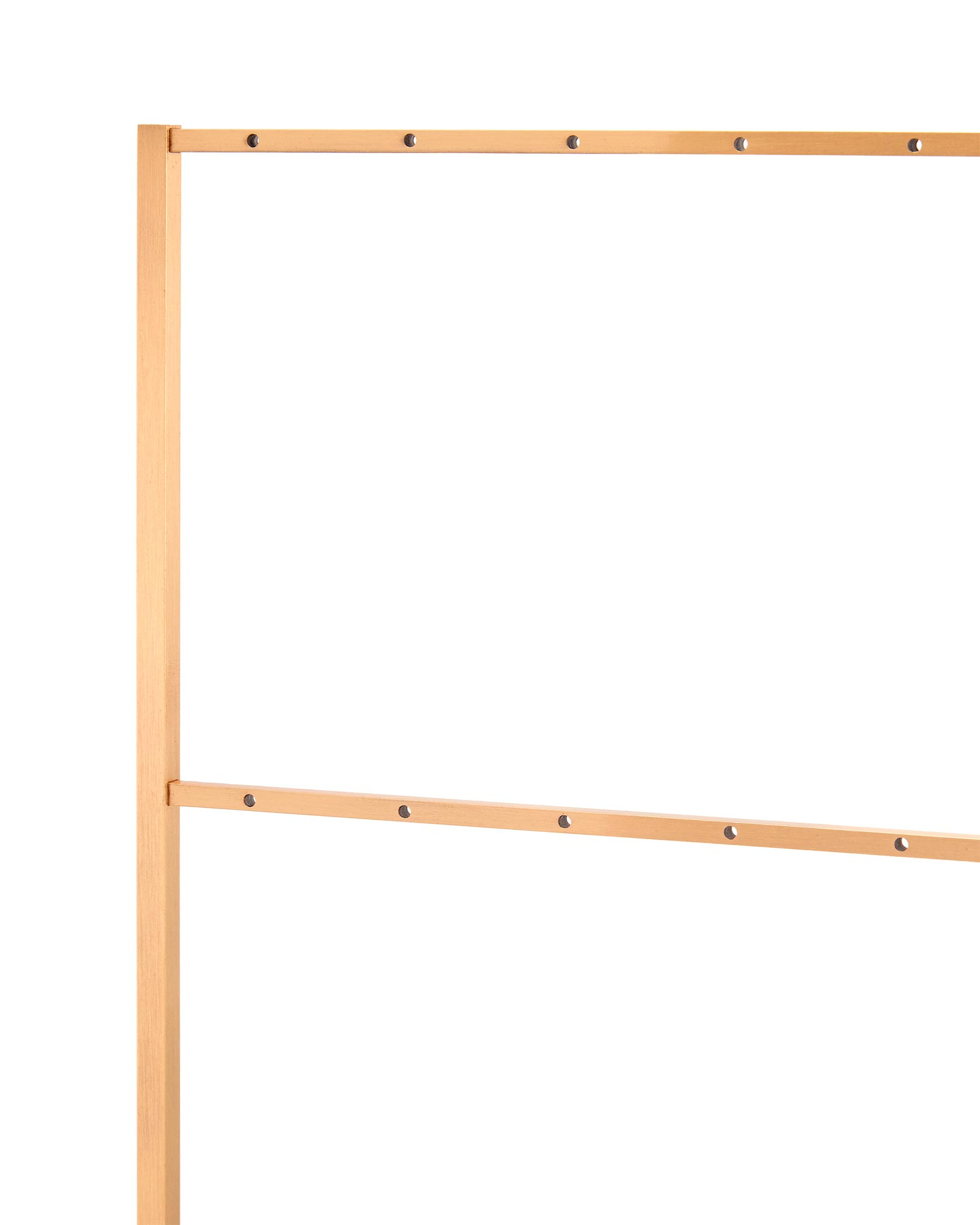 Earring Ladder Jewelry Stand in Rose Gold