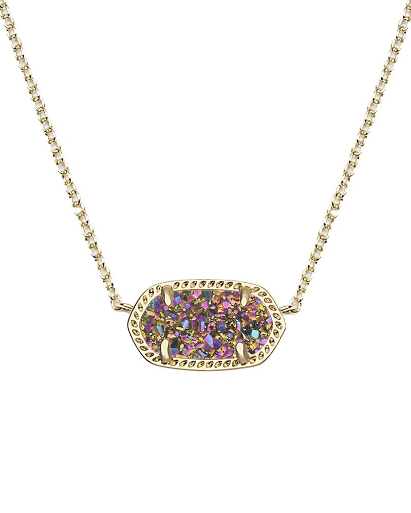 Elisa Gold Pendant Necklace in MultiColor Kendra Scott